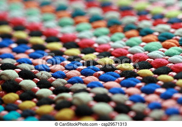 Colorful carpet texture - csp29571313