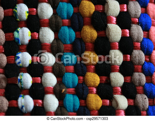 Colorful carpet texture - csp29571303