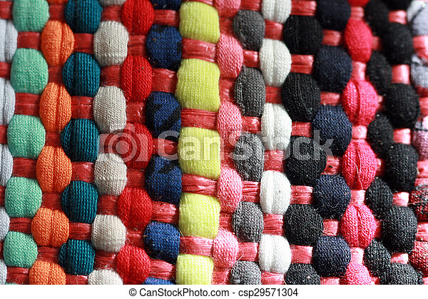 Colorful carpet texture - csp29571304