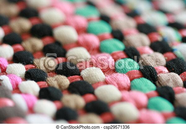 Colorful carpet texture - csp29571336