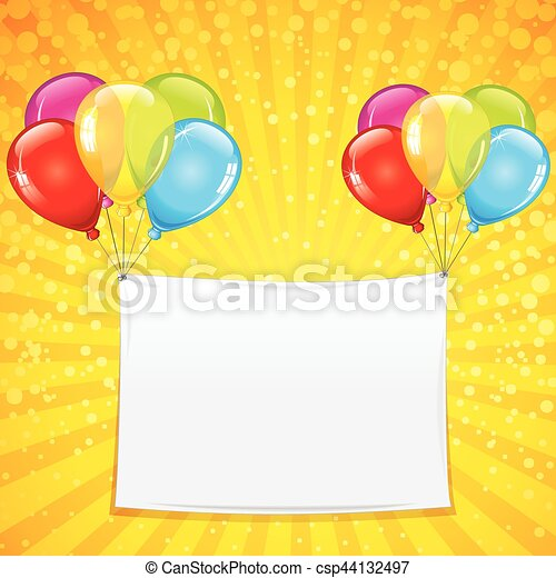 Colorful Celebration Background - csp44132497