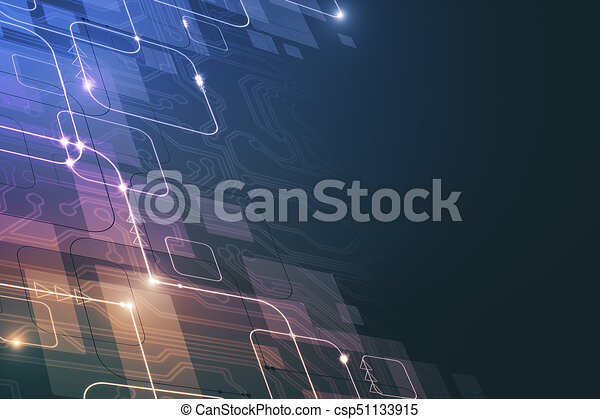 colorful circuit wallpaper abstract colorful tech pattern wallpaper