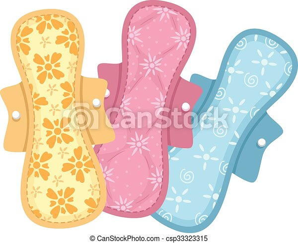 Colorful Cloth Pads - csp33323315