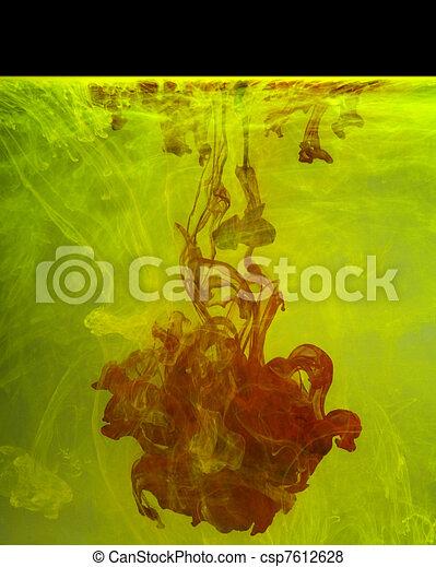 colorful contamination - csp7612628