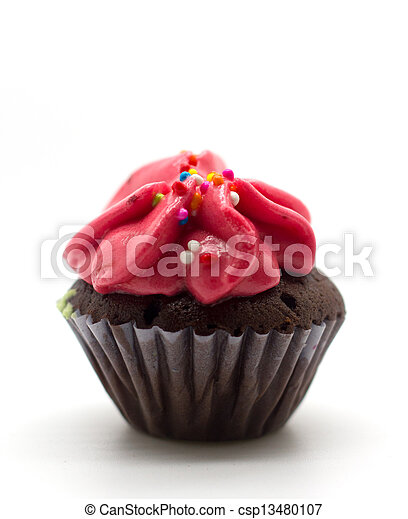 Colorful Cup Cake - csp13480107