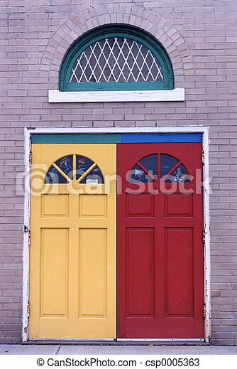 Colorful Door - csp0005363