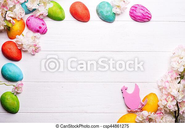 easter egg boarder
