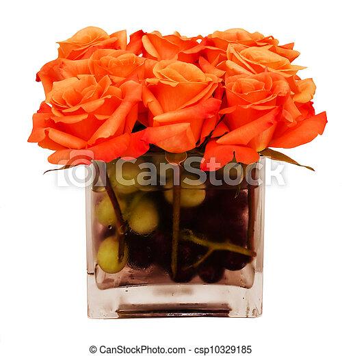 Colorful flower arrangement - csp10329185