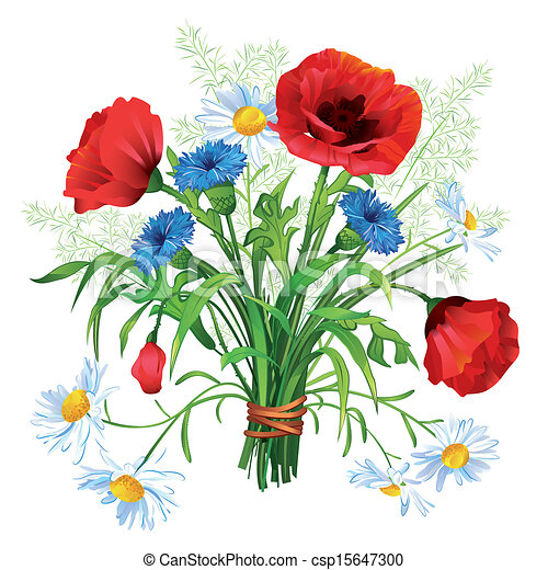 wildflower illustrations and stock art 18 292 wildflower rh canstockphoto com Flower Corner Clip Art Flower Corner Clip Art