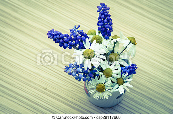 colorful flowers - csp29117668