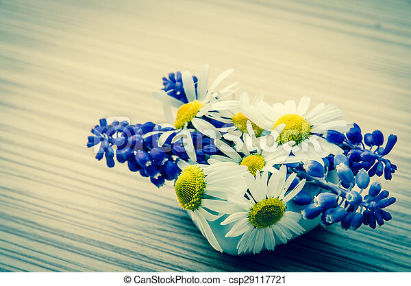 colorful flowers - csp29117721