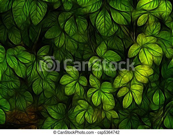 colorful foliage  - csp5364742