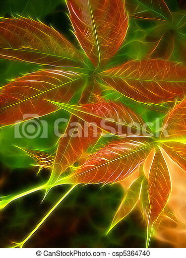 colorful foliage - csp5364740