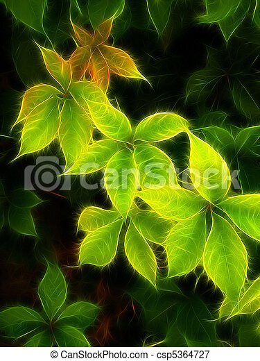 colorful foliage - csp5364727