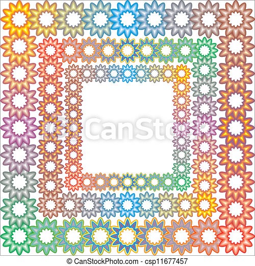 Colorful frame - csp11677457