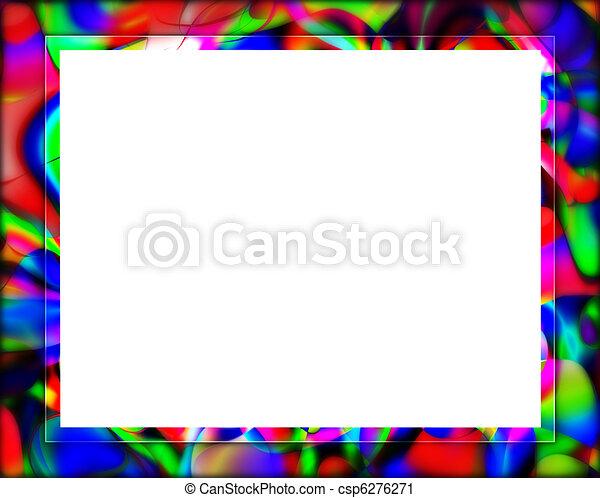 colorful frame border design. Delighful Frame Colorful Frame Or Border  Csp6276271 Intended Design