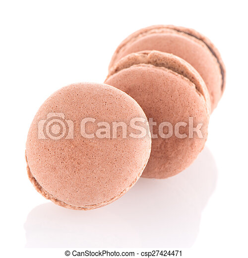 Colorful French Macarons - csp27424471