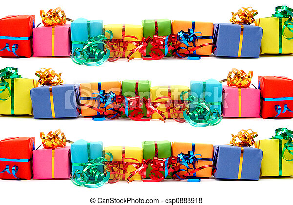 Colorful gifts - csp0888918