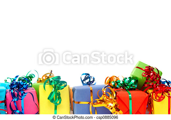 Colorful gifts - csp0885096