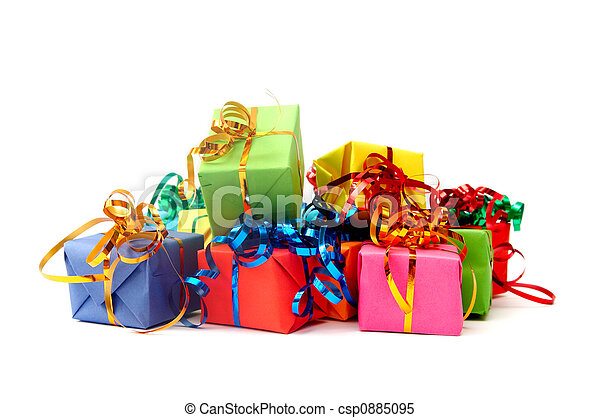 Colorful gifts - csp0885095