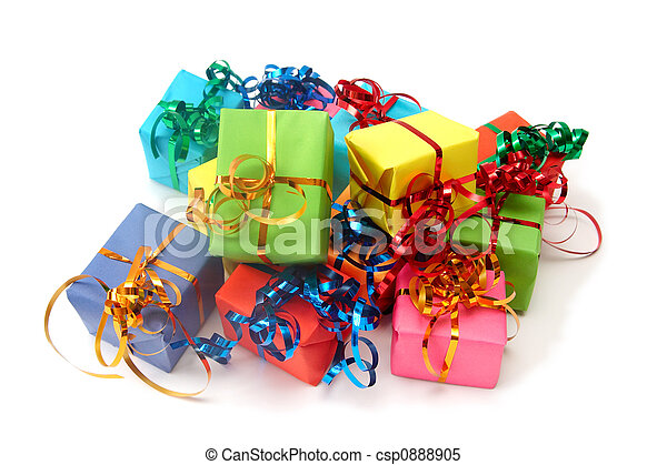 Colorful gifts - csp0888905