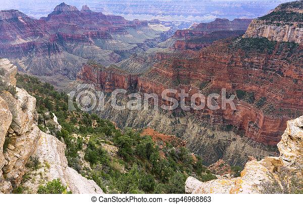 Colorful Grand Canyon Landscape