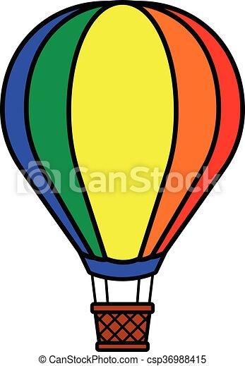 hot air balloon stock illustrations 11 802 hot air balloon clip art rh canstockphoto com clipart hot air balloon pictures clip art images of hot air balloon
