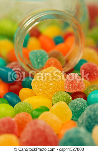 Colorful Jelly Beans To Wallpaper