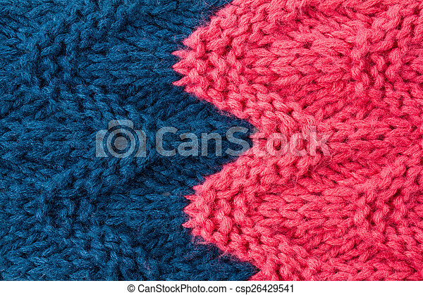 98d3e42ec8a Colorful knitting background texture pink and blue color. Knit - csp26429541