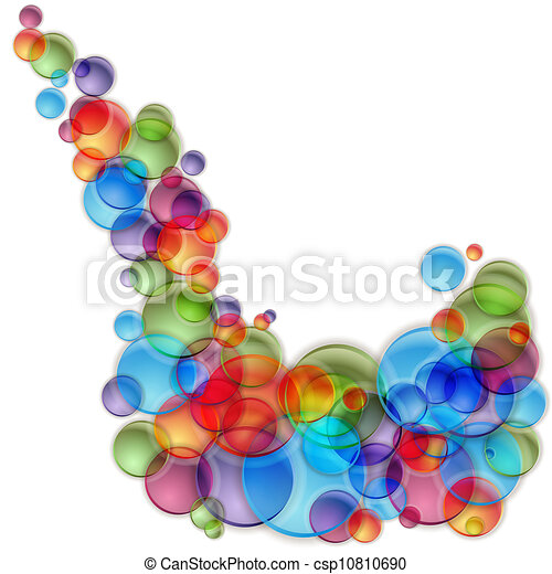 Colorful Light Bubble Spray - csp10810690