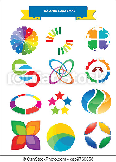 Colorful Logo Pack - csp9760058