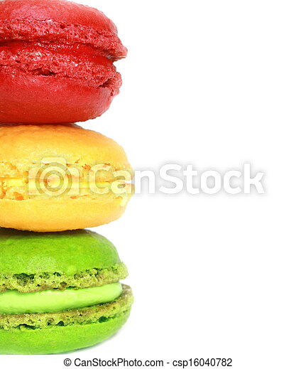 Colorful macaroons - csp16040782
