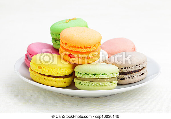 Colorful macaroons - csp10030140