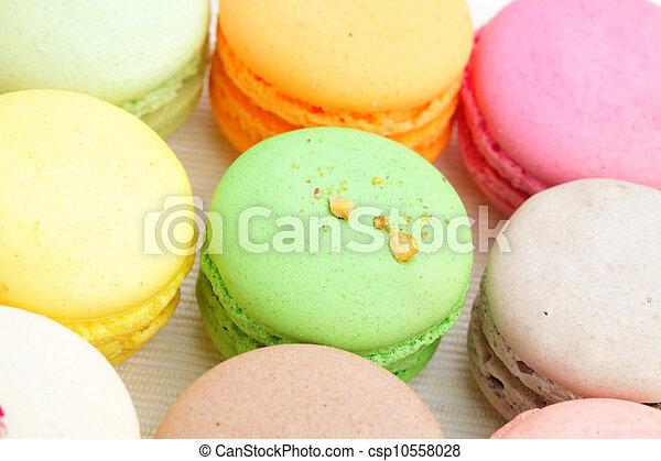 Colorful macaroons - csp10558028