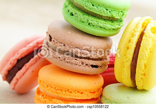 Colorful macaroons - csp10558122