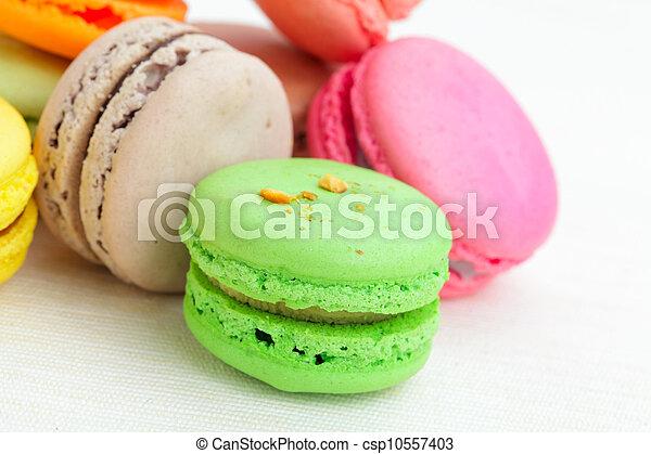 Colorful macaroons - csp10557403