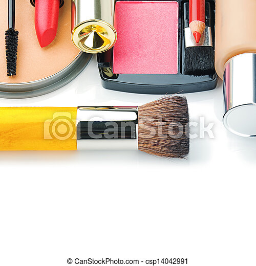 Colorful make-up products - csp14042991