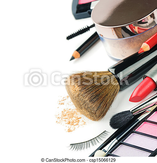 Colorful makeup products - csp15066129