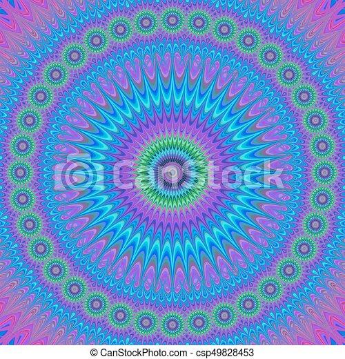 Colorful Mandala Design Background