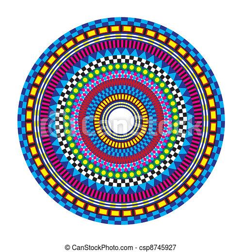 Colorful Mandala - csp8745927