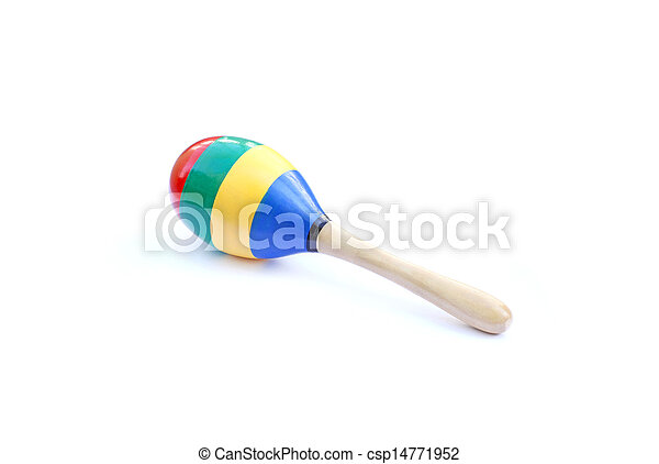 colorful maracas isolated on white background stock images search