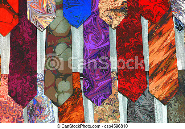 e9a345f3ad05 Colorful mens ties. Colorful men ties on display.