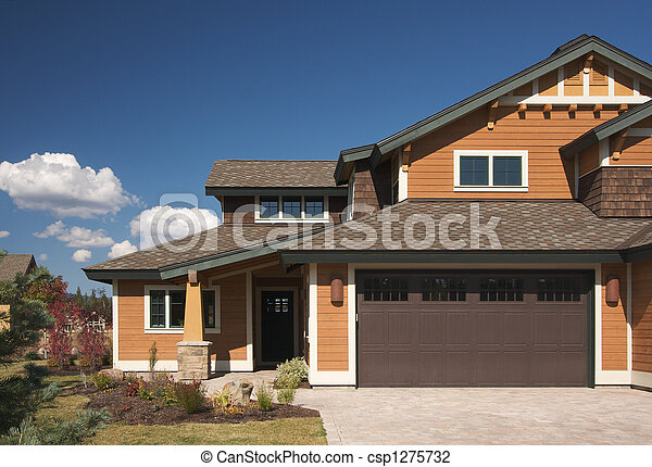 Colorful New Home Construction - csp1275732