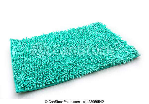 Colorful of cleaning feet doormat or carpet texture. - csp23959542