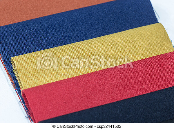 Colorful of fabric - csp32441502