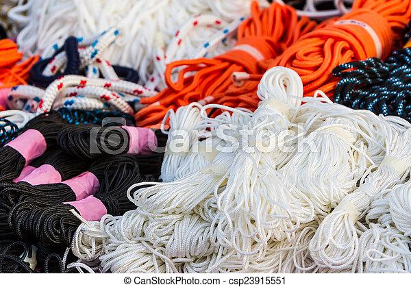 Colorful of hammock. - csp23915551