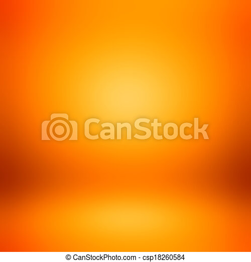 Colorful orange abstract background - csp18260584