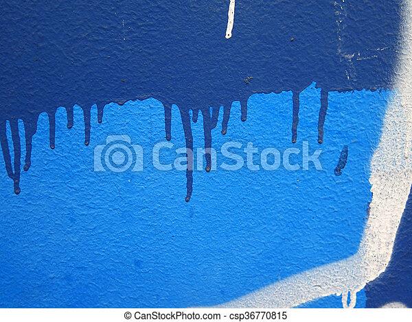Colorful paint splashes Background - csp36770815
