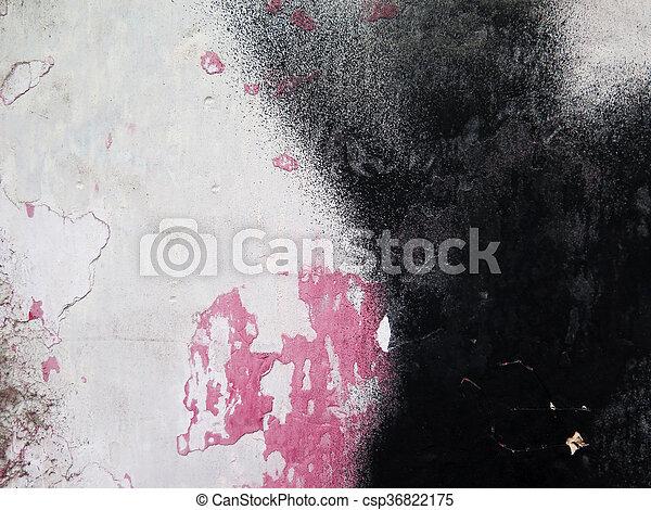 Colorful paint splashes Background - csp36822175