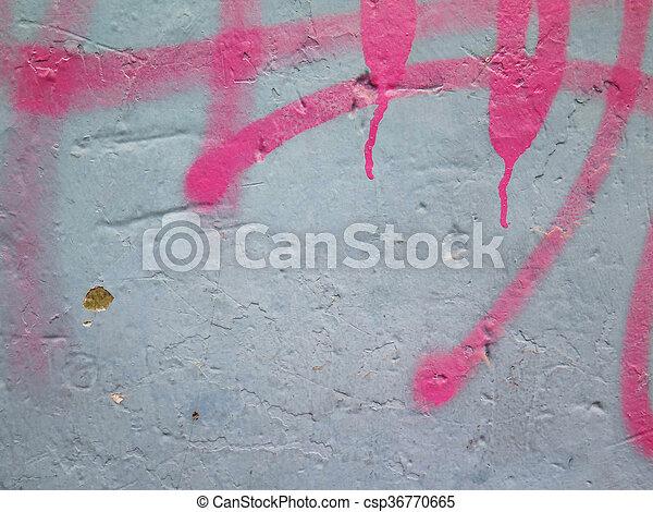 Colorful paint splashes Background - csp36770665